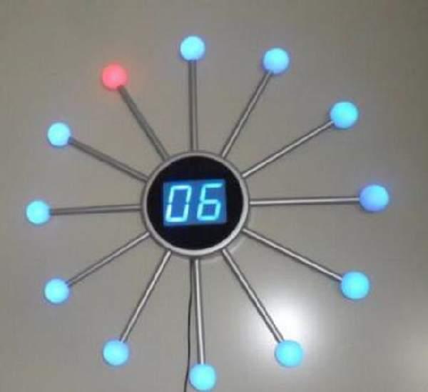... не можна краще впишуться електронні настінні годинники. Вибравши їх ce151f50ac995